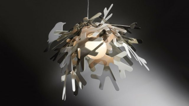 Lampadari slamp, luce di design con Adriano Rachele